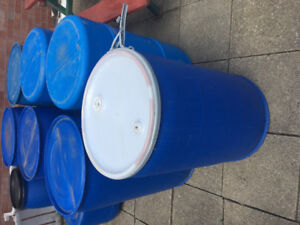 PLASTIC BARRELS AND CONTAINERS