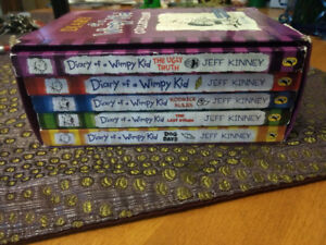 Diary of a wimpy kid 1-5