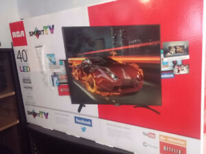 BRAND NEW 40 INCH R.C.A SMART T.V BRAND NEW/NEVER OUT OF BOX