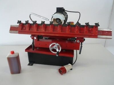 hobelmesser schleifmaschine schärfmaschine m. kühlmittelpumpe + Kühlmittel konz.
