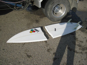 Have any pre-loved broken surfboards or skateboards? :-)