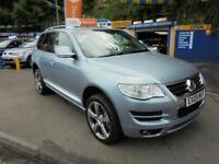 2009 09 VOLKWAGEN TOUAREG 3.0 TDI V6 ALTITUDE 4X4 IN BLUE # TOP SPEC MODEL #