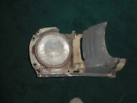 65-66 Mustang right & left headlight fender extension-$75 and up