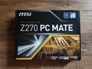 MSI Z270 PC MATE LGA 1151 Intel Z270 HDMI SATA 6Gb/s USB 3.1 ATX