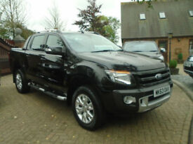 2013 63 Reg Ford Ranger 3.2TDCi ( 200PS ) ( EU5 ) 4x4 Auto Wildtrak NO VAT