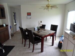 older mobilehome on his own double lot rent to own