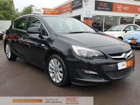 VAUXHALL ASTRA TECH LINE 2013 Petrol Automatic in Black