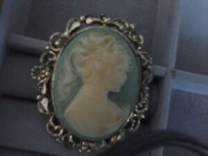 Large Cameo pin