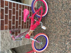 "16"" Barbie Bike"