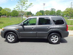 2005 Mazda Tribute GT (auto a/c  roof  leather  4x4 168000 km)