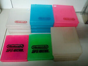 Nintendo hard clam shell cases $5 each or 3 for $10