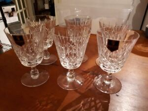 Special set of 6 Edinburgh 'Appen' crystal water glasses
