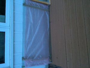Deck glass tempered panels