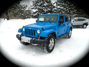 2011 Jeep WRANGLER UNLIMITED Sahara TRAIL RATED 4X4 | HARD/SOFT