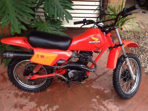 Honda XR 80 Low Hours Original Paint and Engine !