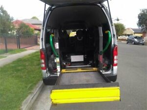 2018 Toyota HiAce KDH223R Commuter High Roof Super LWB Bus Lidcombe Auburn Area Preview