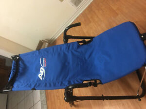 Almost new AB lounge blue chair abdominal training only 25