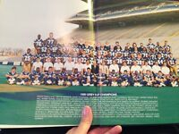 Winnipeg Blue Bomber 60 year Collectors Book New
