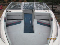 19' Open Bow Inboard Volvo Engine & leg.