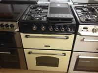 Range master gas cooker (double oven)