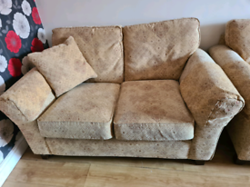 M&S 2 seater sofa+2 armchair