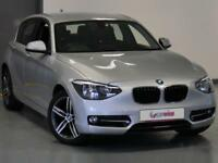 2015 BMW 1 Series 116i Sport 5dr Petrol silver Manual