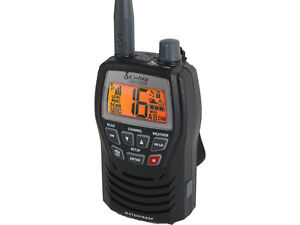 Cobra MR HH125 Marine VHF Hand Held Radio