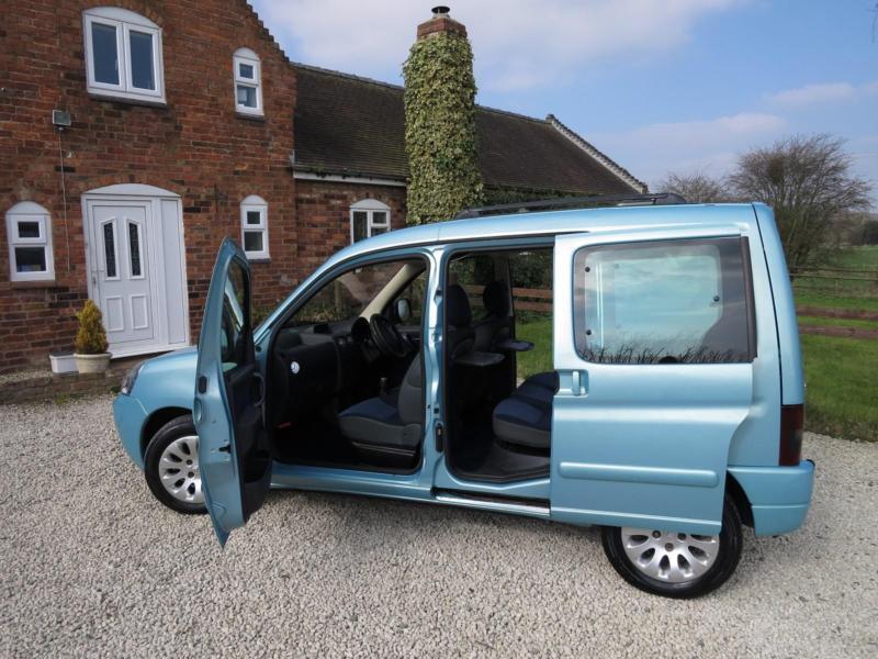 2004 citroen berlingo multispace 2 0 hdi diesel one owner new mot in shrewsbury. Black Bedroom Furniture Sets. Home Design Ideas