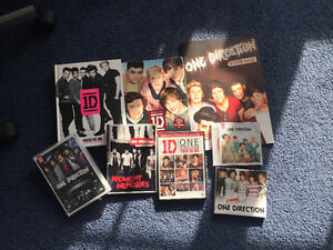 Lot CD, DVD, Livres One Direction