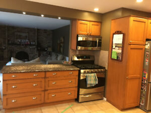 Elmwood Custom Kitchen Cabinets and Granite Countertops