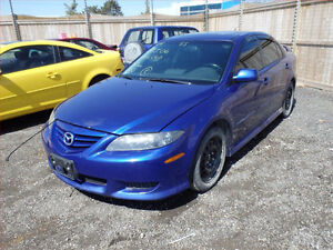 MAZDA 6 (2003/2008/ FOR PARTS PARTS PARTS ONLY) Gatineau Ottawa / Gatineau Area image 4