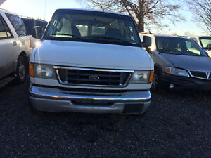 2003 Ford E150 for PART OUT!