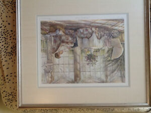 Trisha Romance Mothers Arms limited addition signed print.
