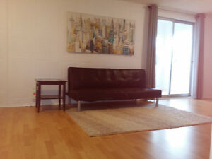 $800 FURNISHED PRIVATE SUNNY WALK-OUT Bachelor - Markham/HWY7