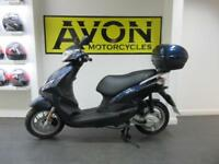 2017 Piaggio Fly 50cc 4T Scooter + Top Box - Less than 100km on the clock!