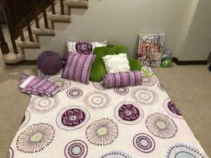Girls double bedding Set and Accessories for Sale