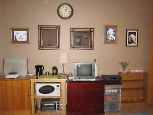 RENTAL ROOM $575 per month – inclusive - AVAILABLE SEPTEMBER 1ST
