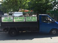 Brownings waste/rubbish/house clearances/scrap metal/grass and hedge cutting