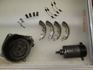1985 suzuki 230 shaft atv starter recoil and new front brakes