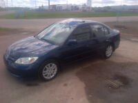 Price Reduced 2005 Civic .. $ 3600.00 + tax