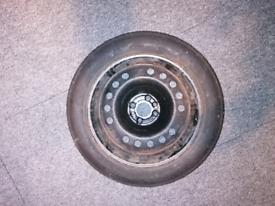 Alfa romeo Mito spare wheel