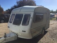 FLEETWOOD CAVALIER 1150-2 2 BERTH TOURING CARAVAN WITH FULL AWNING AND ALL THE EXTRAS READY TO GO