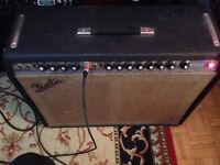 Fender Twin Reverb 1972 Silverface (Utah speaker + Eminence) WOW