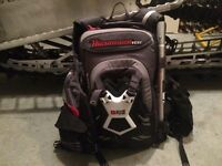 High mark snowpulse avalance bag with built in  tec vest