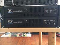 QSC RMX 850 professional power amplifier