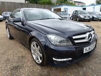 Mercedes C Class 2.1 C 220 CDI BLUEEFFICIENCY AMG SPORT (blue) 2012
