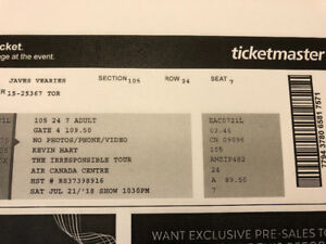 Comedy tickets-Kevin Hart