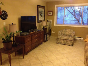 Fully furnished 2 bedroom apartment in Moncton