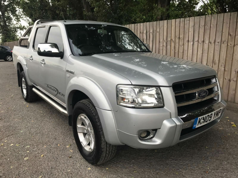 2009 09 Ford Ranger 2.5TDCi ( 143PS ) 4x4 XLT Thunder Double Cab MAY PX