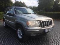 2000 (W) Jeep Grand Cherokee 4.7 V8 auto Limited Low Miles Good Service History